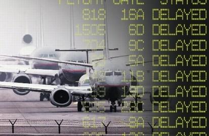 retraso avion